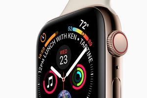 Apple Watch Series 4 lộ diện với màn hình lớn hơn