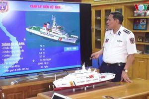 Cảnh sát biển Việt Nam có thêm lớp tàu tuần tra cỡ lớn hiện đại