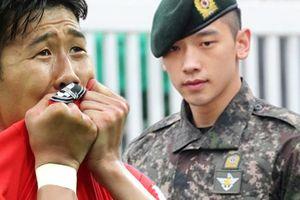 'Ronaldo Hàn Quốc' kiếm 2,5 tỷ/tuần lo nhập ngũ: Nhiều sao nam vướng 'cửa quan'