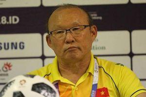 HLV Park Hang-seo trải lòng sau trận thua đau Olympic UAE