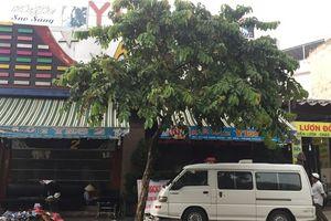 Cháy quán karaoke trên đường Song Hành Quốc lộ 22