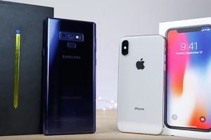Galaxy Note 9 'so găng' iPhone X