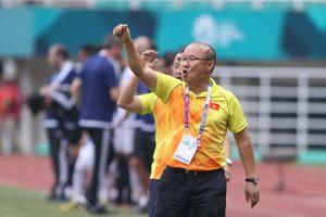 HLV Park Hang-seo: 'Tôi rất tự hào về cầu thủ Việt Nam tại ASIAD 2018'
