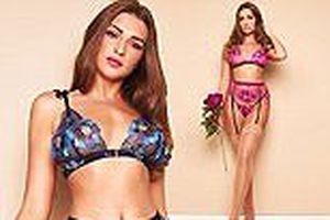 Zara McDermott gợi cảm hút mắt với nội y xuyên thấu