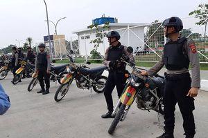 Olympic Việt Nam - UAE: An ninh vào sân vận động được thắt chặt