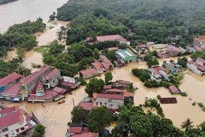 Toàn cảnh lũ lụt kinh hoàng hoành hành khắp 9 huyện, thành phố ở Thanh Hóa