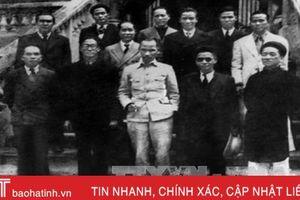 Chính phủ lâm thời - chuyện của 73 năm trước