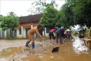 Sơn La khẩn trương khắc phục hậu quả mưa lũ chuẩn bị cho ngày khai giảng