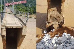 Nghệ An: Mố cầu Chôm Lôm gãy đứt, chia cắt hơn 500 người dân