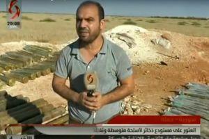 Quân cảnh Syria chiếm kho vũ khí thánh chiến lớn ở Hama