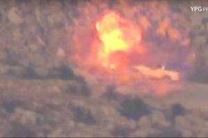 Sập bẫy phục kích, 2 xe thánh chiến Syria bị người Kurd hủy diệt tại Afrin