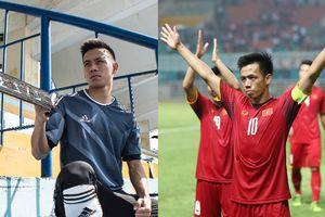 Tất tần tật thông tin về Văn Quyết- người đội trưởng kiên cường của Olympic Việt Nam vừa ghi bàn trong trận gặp UAE