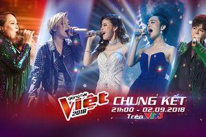 Chung kết The Voice 2018: Dòng nhạc nào sẽ được chọn cho màn chạy đua tới ngôi vị Quán quân?