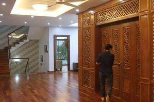 Dinh thự của ông Trương Quý Dương: 'Hai bên nội ngoại bán đất góp tiền làm'