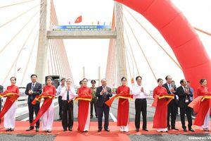 Chính thức thông xe cao tốc Hạ Long – Hải Phòng và cầu Bạch Đằng