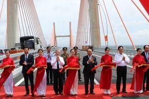 Khánh thành cao tốc Hải Phòng – Hạ Long và cầu Bạch Đằng