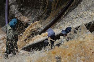 Hơn 14.000 hộ dân thành phố Sơn La bị ngừng cấp nước do mưa lũ