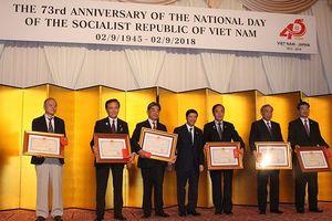Vinh danh tổ chức, cá nhân người Nhật đóng góp cho quan hệ Việt-Nhật