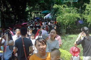 Nhiều điểm vui chơi giải trí tại Hà Nội đông đúc ngày đầu của kỳ nghỉ Lễ 2/9