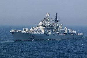 Trung Quốc lần đầu huy động tàu khu trục tham gia tập trận Kakadu