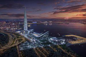 Chiêm ngưỡng tòa nhà chọc trời cao nhất châu Âu