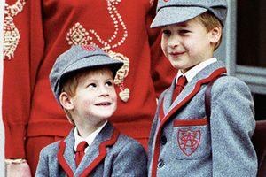 Những bộ đồ đôi đáng yêu của Hoàng tử William và Harry khi còn nhỏ
