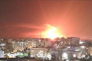 Syria bị không kích ở ngoại ô Damascus?