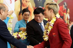 Đội Olympic Việt Nam được chào đón nồng nhiệt