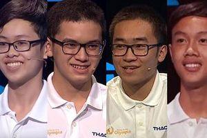 4 thí sinh tranh ngôi Vô địch Chung kết Đường lên đỉnh Olympia