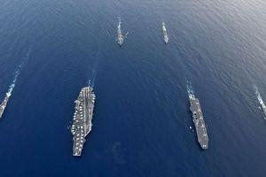 Hải quân Mỹ - Nhật điều dàn tàu chiến 'khủng' tới Biển Đông tập trận
