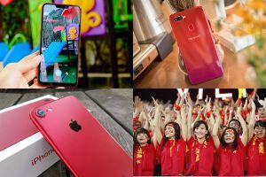 Những mẫu smartphone đỏ chói cổ vũ U23 Việt Nam và thầy Park