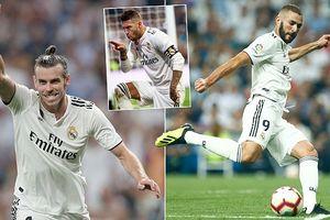 Courtois xung trận, Real Madrid đại thắng
