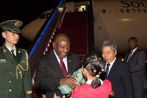 Tổng thống Nam Phi thăm Trung Quốc nhằm thúc đẩy hợp tác kinh tế