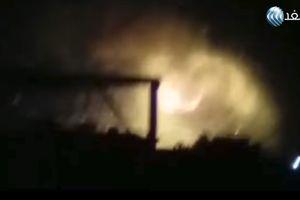Nổ lớn rung chuyển sân bay quân sự ở Damascus, Syria