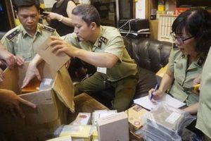 Hà Nội thu giữ hơn 1.200 điếu xì gà không có hóa đơn chứng từ hợp pháp