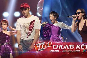 Trước giờ G - Chung kết The Voice 2018: Team Noo Phước Thịnh rực rỡ tái hiện hình ảnh Boney M, Tóc Tiên 'chơi lớn' vì Thái Bình
