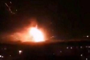 Nổ lớn rung chuyển thủ đô Syria, Israel bác bỏ không kích