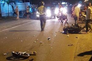 Hai xe máy đối đầu 2 người tử vong