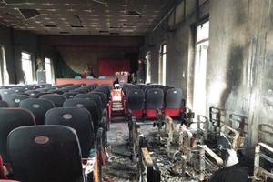 Tìm ra nguyên nhân vụ cháy hội trường xã tại Thanh Hóa