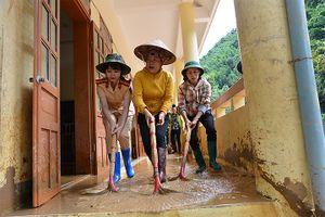 Vùng lũ Sơn La nỗ lực cho năm học mới