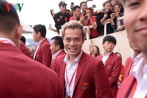 Dàn sao Olympic Việt Nam nói gì trong lễ vinh danh đoàn thể thao Việt Nam?