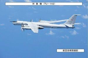 Nhật Bản triển khai tiêm kích chặn máy bay do thám Nga