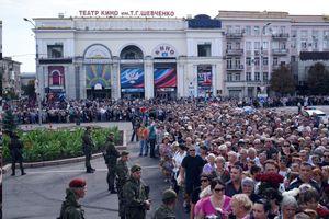 120.000 người đến dự đám tang của lãnh đạo phe li khai miền đông Ukraine
