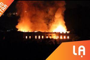 Bảo tàng quốc gia Brazil 200 tuổi chìm trong biển lửa