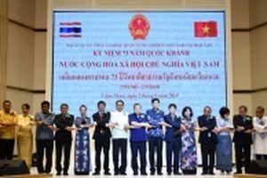 Chiêu đãi trọng thể kỷ niệm Quốc khánh tại Thái-lan