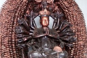 Hai lần bị trộm, tượng Phật cổ được tìm thấy ngoạn mục