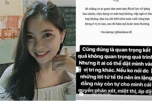 Bạn gái Quang Hải viết trạng thái 'cực gắt' bảo vệ người yêu sau thất bại