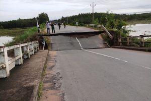 Vụ sập cầu ở Bình Thuận: Xác định nguyên nhân ban đầu