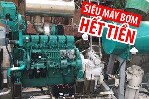 Siêu máy bơm trên đường Nguyễn Hữu Cảnh ngừng hoạt động vì hết tiền