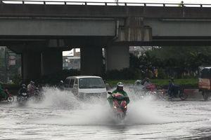 Nhiều tuyến đường ở TP.HCM bị ngập trong kỳ nghỉ lễ Quốc khánh 2/9